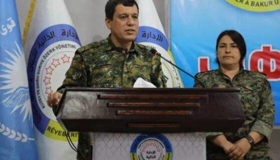 فرمانده کردهای سوریه : باید با دمشق مذاکره کنیم