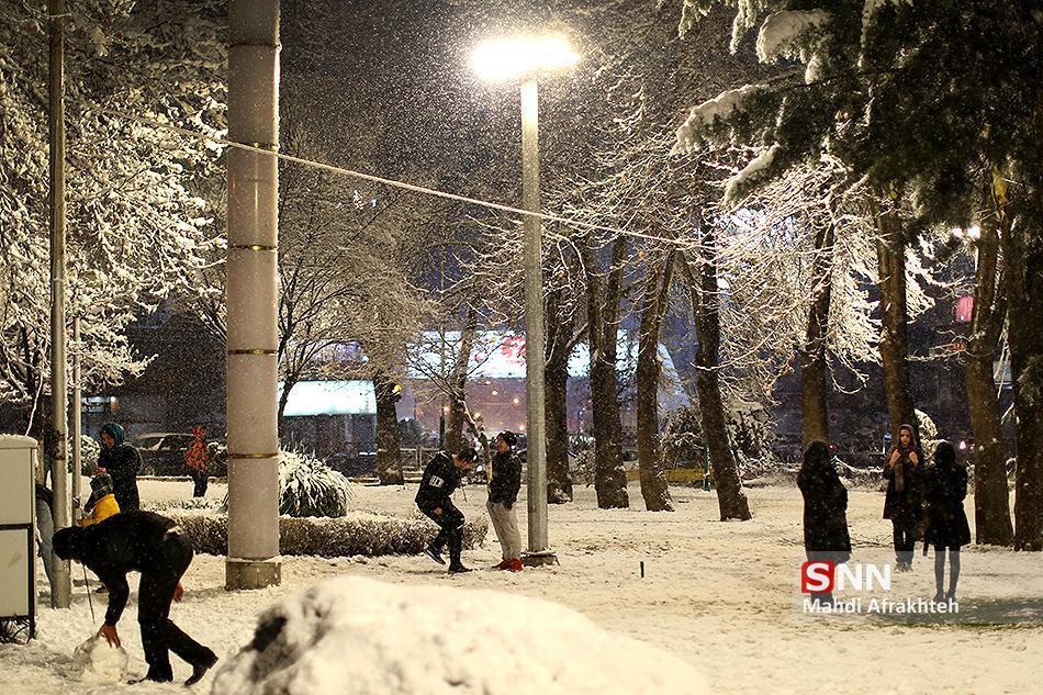 بارش برف و باران شروع شد، ورود سامانه بارشی جدید به کشور طی روز یکشنبه