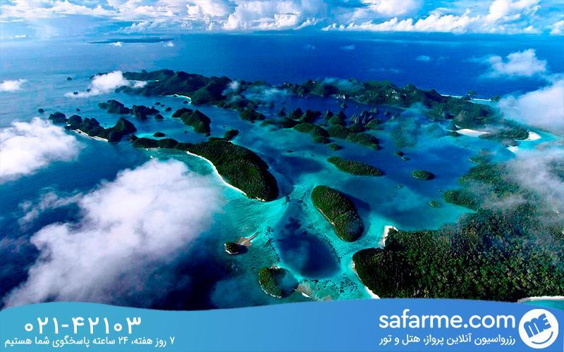 جزیره راجا آمپات،جزیره عروس دریایی
