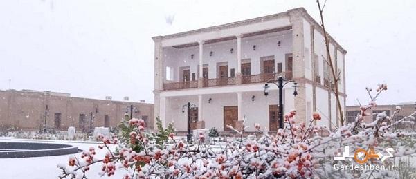 ارگ تاریخی میشیجان؛بنایی قاجاری در خمین، تصاویر