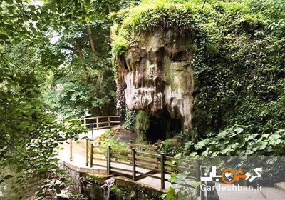 آبشار و غار شیپتون در یورکشایر انگلستان، عکس
