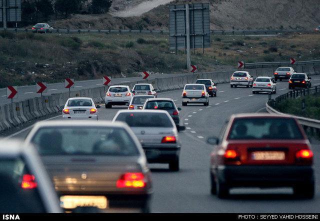 جو آرام و ترافیک روان در بیشتر محورهای مواصلاتی