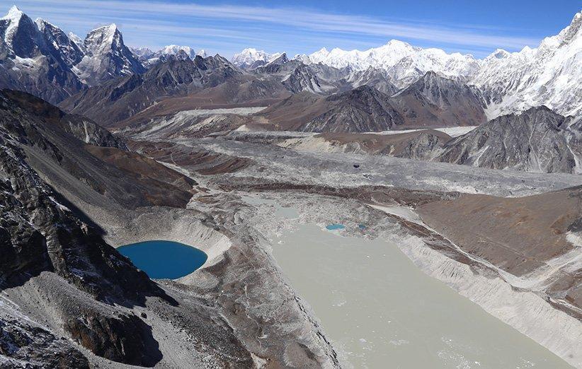 پژوهش ناسا رشد چشمگیر ذوب شدن یخچال های طبیعی را نشان می دهد
