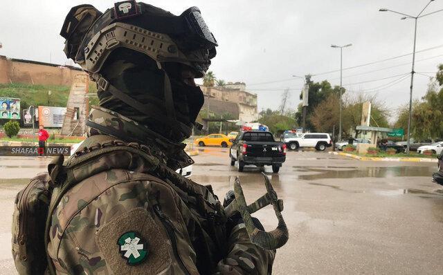 عملیات امنیتی ارتش و حشد شعبی عراق در دیالی و کرکوک