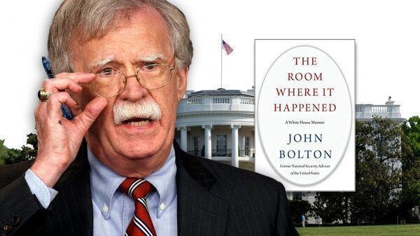 دولت ترامپ بولتون را به دادگاه کشاند