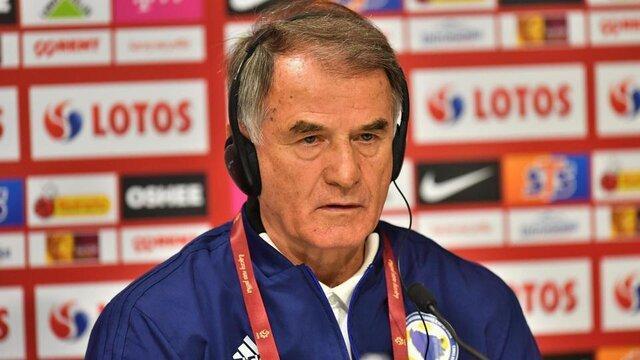 سرمربی تیم ملی فوتبال بوسنی برکنار شد