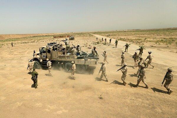 ارتش عراق مقادیر زیادی از تسلیحات تکفیری ها را کشف و ضبط کرد