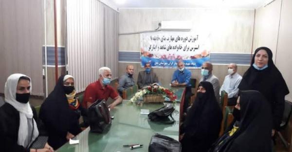 برگزاری کارگاه آموزشی مهارت های مبارزه با استرس ویژه جامعه هدف معزز شهرستان بابل